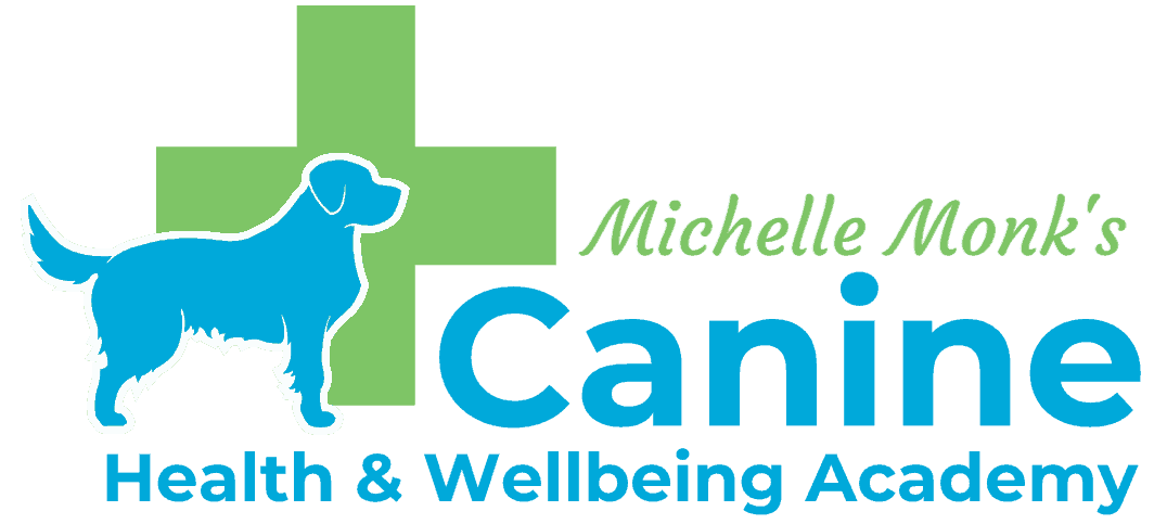 Logo for Canine Health and Wellbeing Academy founded by Michelle Monk